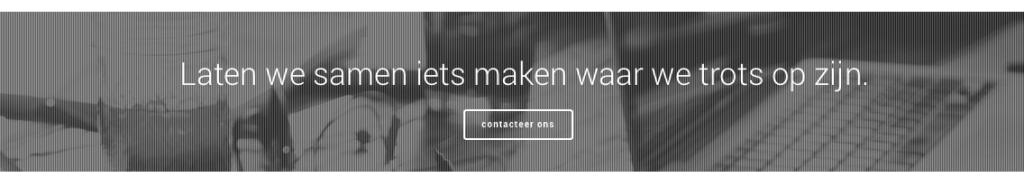 Webdesign - laten we samen iets maken