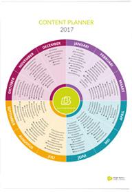 Contentplanner 2017
