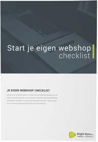 Start je eigen webshop checklist